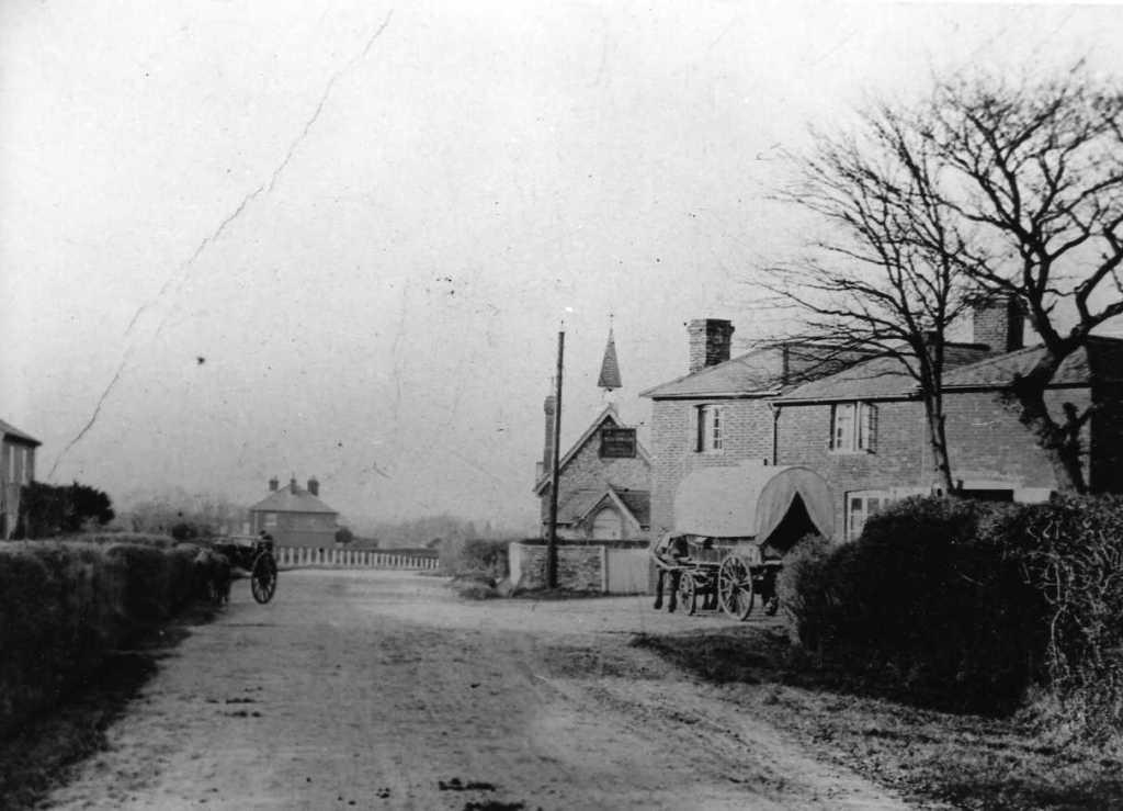 The Alma, Woodman Inn and the School