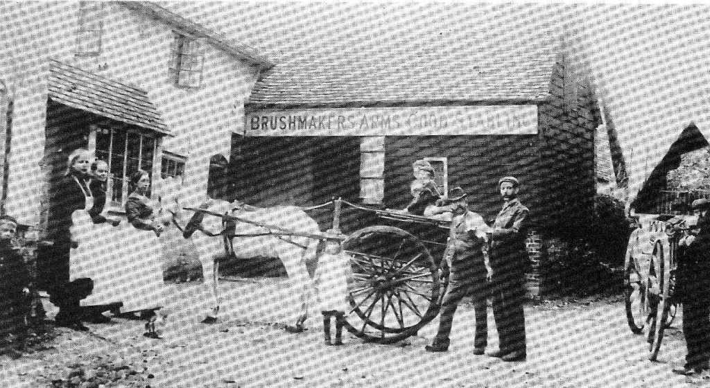 The Brushmakers Arms - 1896