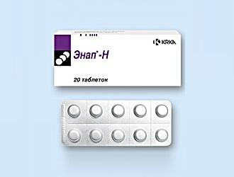 Особенности применения таблеток Энап-Н при гипертонии
