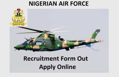 Nigeria Airforce Recruitment 2020