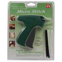 MicroStitch Tagging Gun Kit – Includes 1 Needle, 540 Black Fasteners & 540 White Fasteners (Starter Kit)