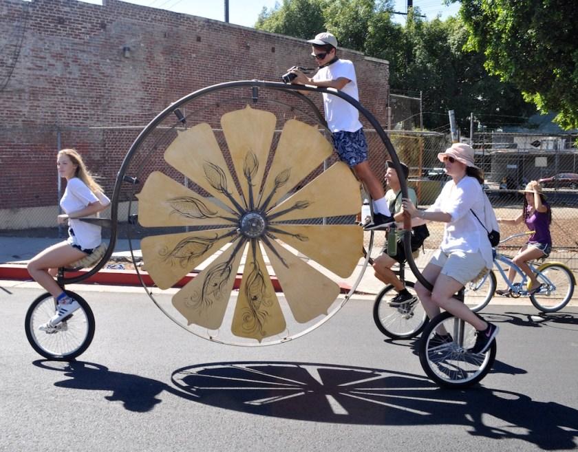 Ma & Pa and the Kids on the Big Trike