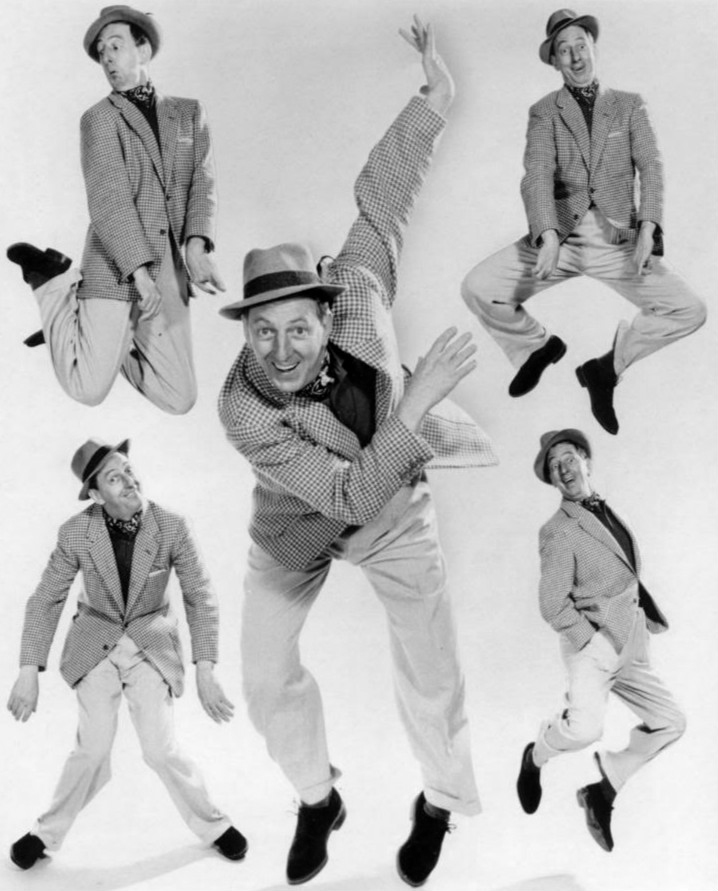 The real Ray Bolger, in happier times