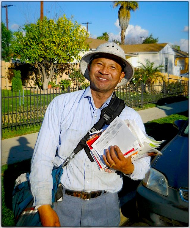 Twenty-seven years delivering mail in Panorama