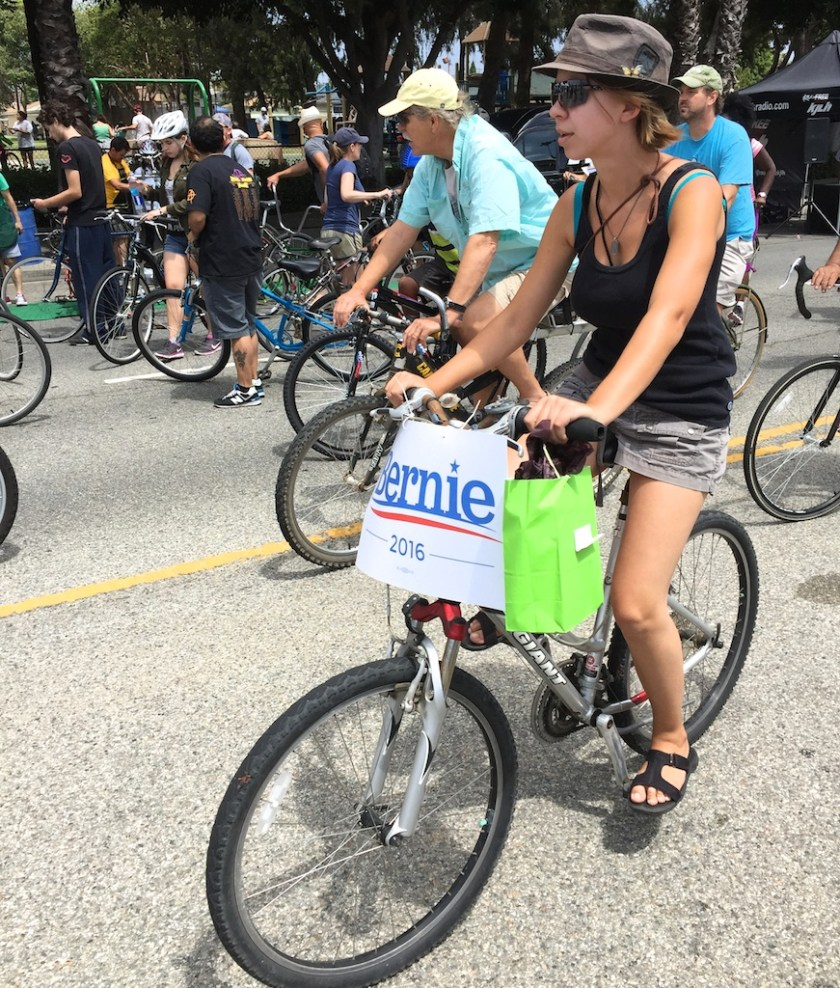They love Bernie in Venice