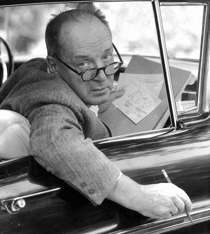Nabokov, one of the great poker faces