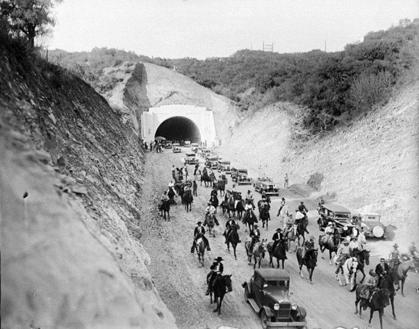 The first commute through the Sepulveda Pass