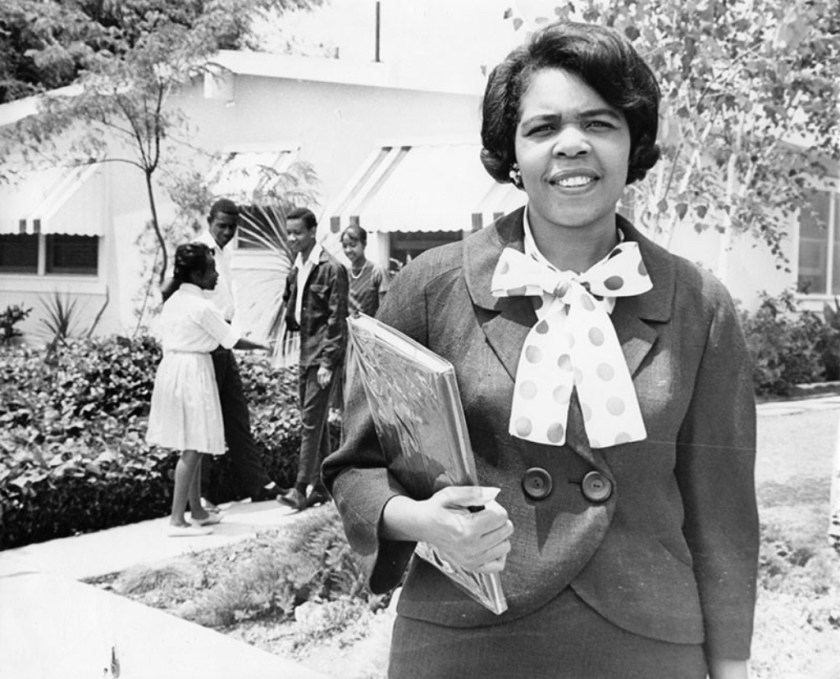 "Georgia Taylor, ""Negro"", leading the fight for fair housing"