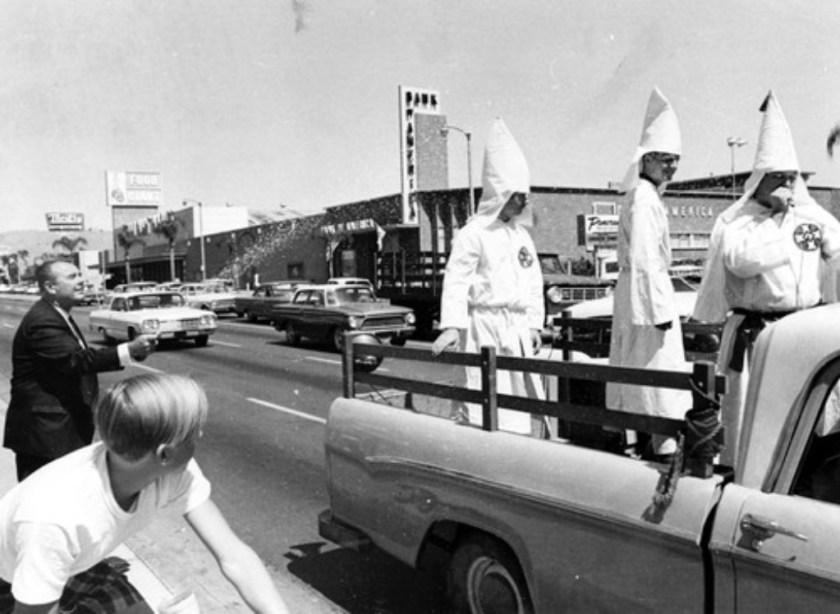 A KKK rally of three, 1966