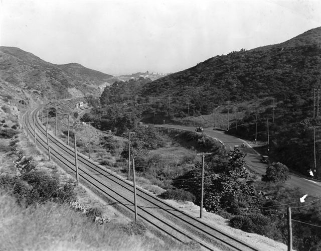 Cahuenga Pass, 1922