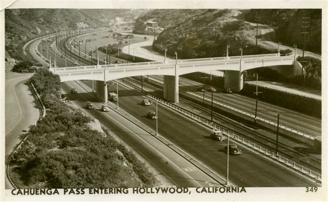 Cahuenga Pass, 1949