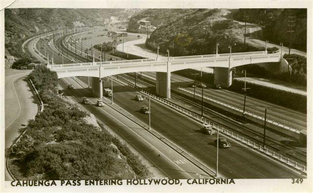 Cahuenga Pass, 1949