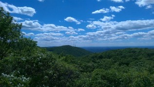 View of Mount Beacon from the top of Fishkill Ridge