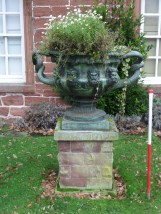 Replica of the 'Warwick Vase'
