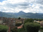 View from the cathedral in Barga, Tuscany - on holiday 2008