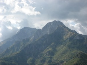 In the Alpi Apuane - on holiday 2008