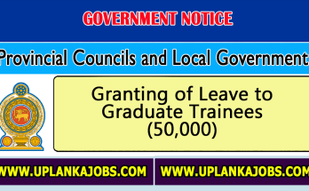 New Circular: Granting of Leave to Graduate Trainees (50,000)
