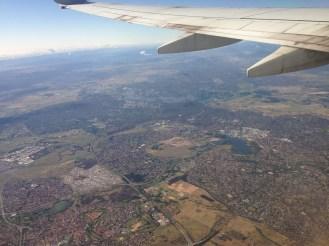 Leaving Canberra, Australia.