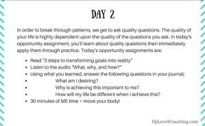 Week 1, Day2