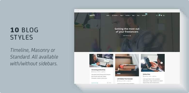 Uplift - Responsive Multi-Purpose WordPress Theme - 12