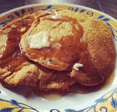 pumpkin spice pancakaes