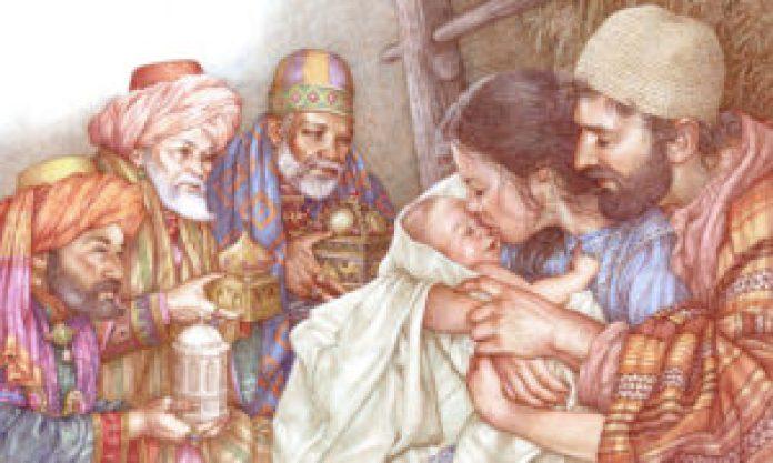 耶稣诞生故事的图画(Anne Yvonne Gilbert)