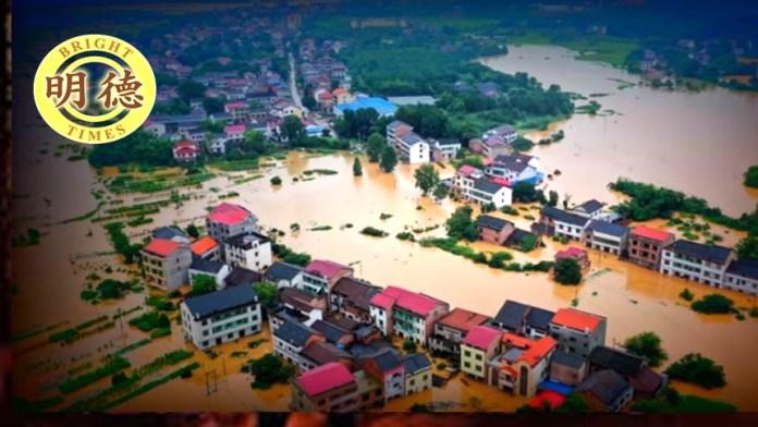 海尔梅斯预言:大洪水、饥荒、瘟疫、战争......(视频截图)