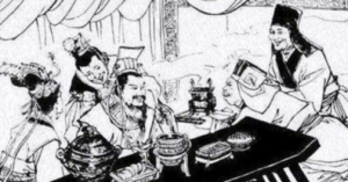 """齐桓公说:""""易牙都舍得把自己的宝贝儿子蒸熟了给我尝鲜,如此忠心耿耿的人,还不放心吗(网络)"""