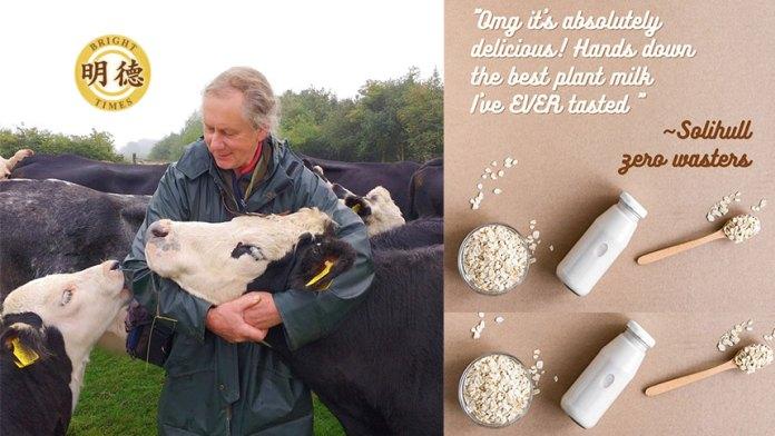 農場主人傑伊不忍宰殺乳牛 轉型生產燕麥奶(明德合成)