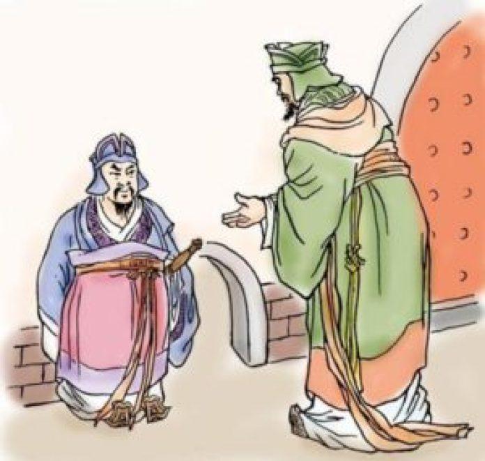 一次,晏子出使楚国,楚国人因为晏子矮小,就在大门旁边特地开了个小门让晏子进去(网络)