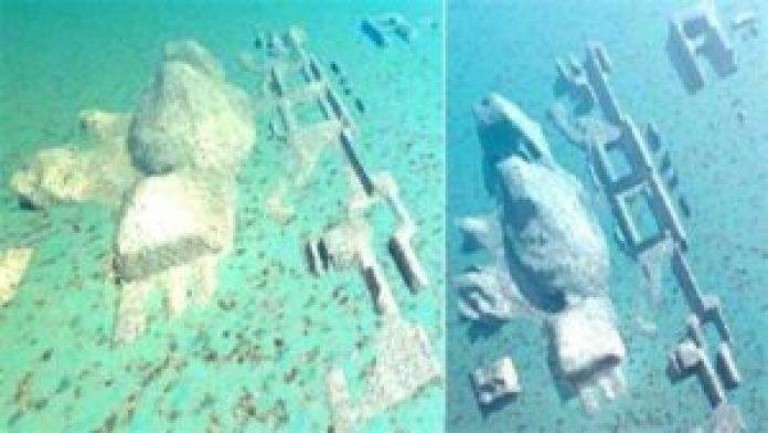 图14:由深海机器人扫描建模出的三维图像(明慧网)