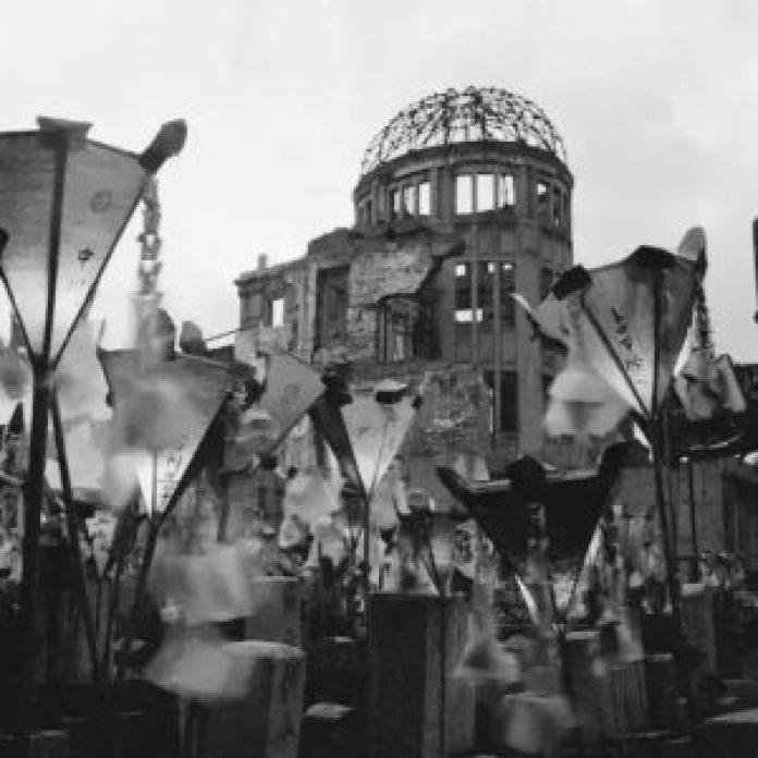 广岛原子弹爆炸纪念馆 1962 (网络)