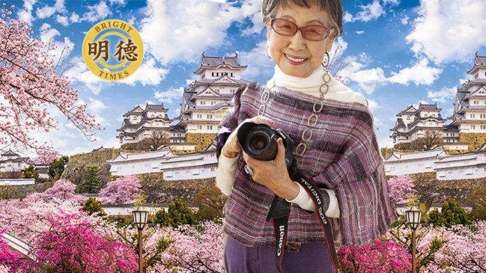 日本第一位女摄影师好奇心似女孩,仍然活跃在第一线!(明德合成)
