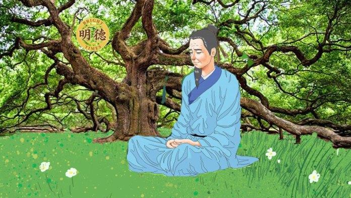 【古代诗人修行故事】:白居易(明德合成)