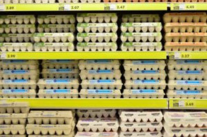 超市里的鸡蛋经常打折,网友老妈和对门的大妈一起到超市疯狂采购鸡蛋(pixabay)