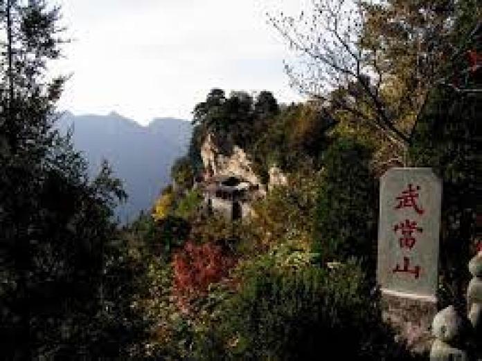 """古武当山位于河北省邯郸地区武安市境内,俗称""""老爷山""""(网络)"""