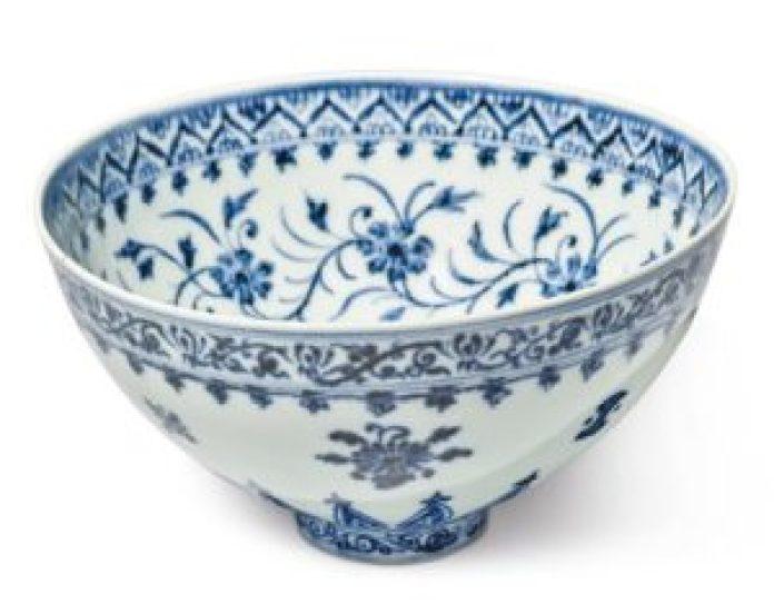 永乐宫廷为其制作的碗,为中国带来了新式瓷器(网络)