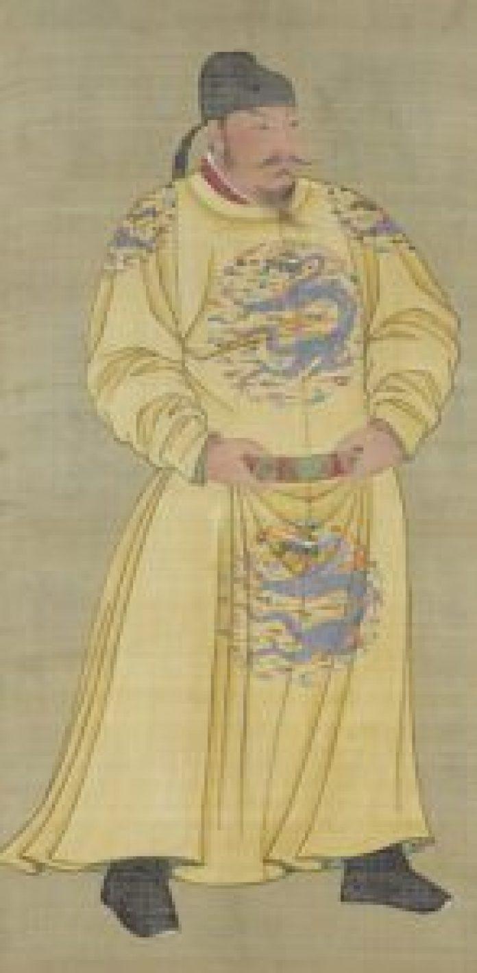 唐代规定,金黄色成为皇帝和皇室的专用颜色(公有领域)