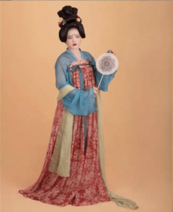 女式胸前如意裙(hanfu.collectio/ins)