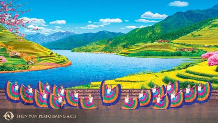 神韻藝術團的中國古典舞(神韻藝術團官方網站)
