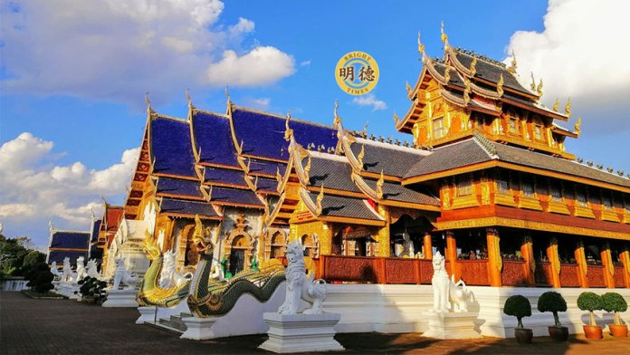 泰国最好看的庙:古巴昭腾《清迈.蓝庙》 泰国最好看的庙:古巴昭腾《清迈.蓝庙》