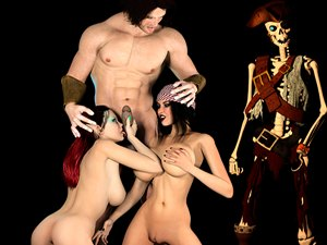 cartoon monster porn games