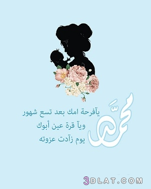 ثيمات مواليد بنات بدون اسماء المرسال