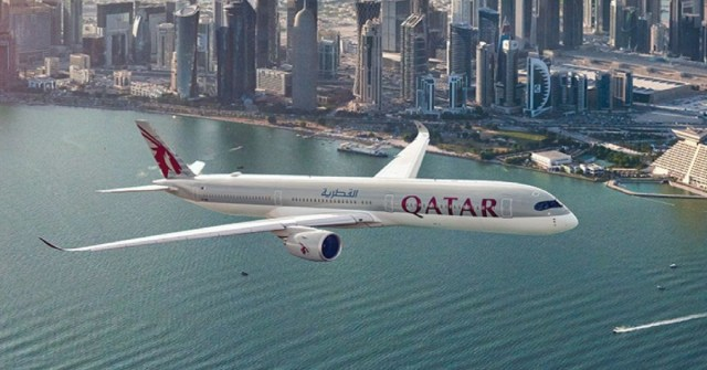 pesawat Qatar Airways