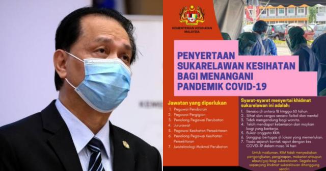 Sukarelawan Pandemik Covid-19