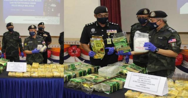 KASUAHDI pada sidang media mengenai rampasan dadah.