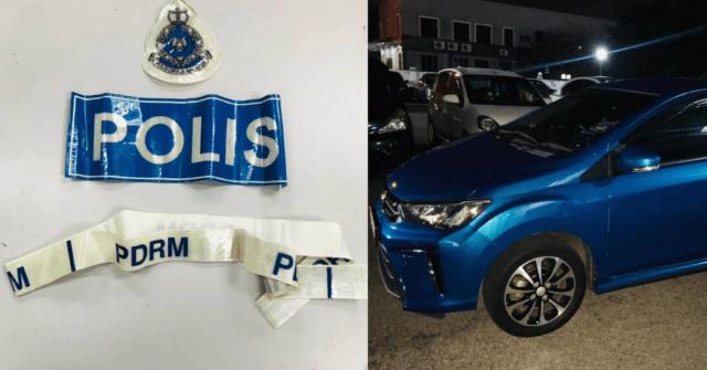 Polis merampas sebuah kereta ketika membuat tangkapan ke atas tiga lelaki yang menyamar polis untuk melakukan kegiatan pemerasan dan rompakan dalam daerah Seberang Perai Utara.