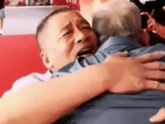 Dua beranak bertemu selepas 58 tahun terpisah.