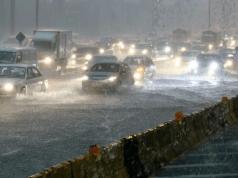 Hujan lebat di 10 buah negeri.
