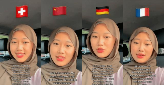 Wanita fasih 7 bahasa